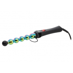 GammaPiu Iron Bubble Rainbow Curling Iron (1inch / 25mm)