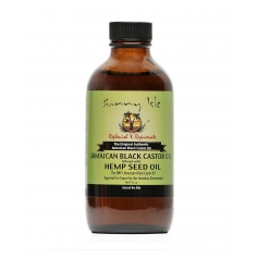 Sunny Isle Jamaican Black Castor Oil Infused with Hemp Oil  120ml/4oz