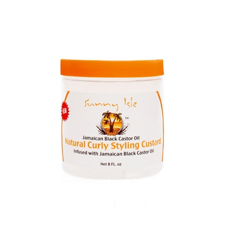 Sunny Isle Jamaican Black Castor Oil Natural Curly Styling Custard