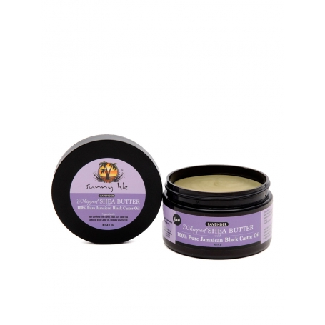 Lavender Whipped Shea Butter with Pure Jamaican Black Castor Oil