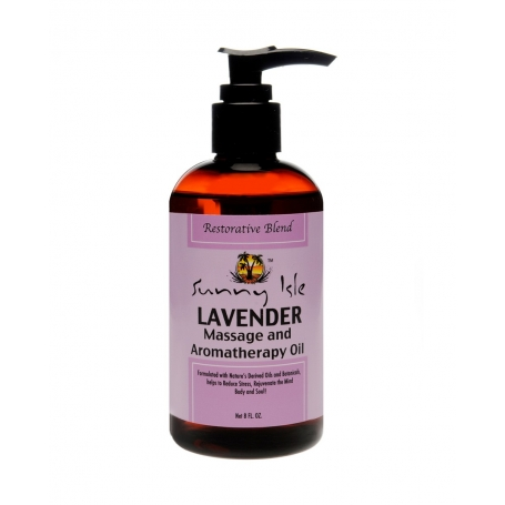 Sunny Isle Lavender Massage and Aromatherapy Oil