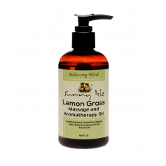 Sunny Isle Lemon Grass Massage and Aromatherapy Oil (240ml/8oz)
