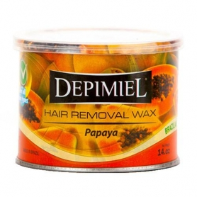 Depimiel Papaya Oil Soft Wax 14oz Can