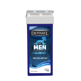 Depimiel Men Soft Wax Roll On Formula Men (100g/3.52 oz)