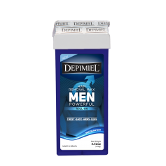 Depimiel Soft Wax Roll On Men's Formula (100g/3.52 oz)