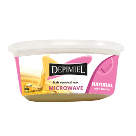 Depimiel Hard Wax Natural Microwave Wax (200g/7.04oz)