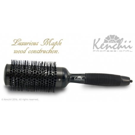 Kenchii Professional Extra Large Thermal Ceramic Brush w/ Ionic Anti-static Nylon Bristles Large