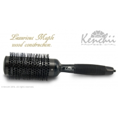 Kenchii Professional Large Thermal Ceramic Brush w/ Ionic Anti-static Nylon Bristles