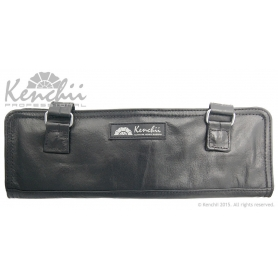 Kenchii Professional Genuine Leather 4-shear Roll Case Large
