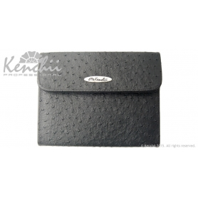 Kenchii Professional Ostrich Faux Leather 6-shear Case