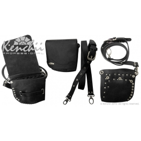 Kenchii Professional Black Faux Leather Holster