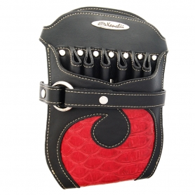 Kenchii Professional Red and Black Faux Leather Holster