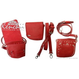 Kenchii Professional Red Faux Leather Holster