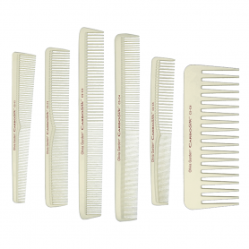 Olivia Garden CarboSilk Professional Combs for Precision Cuts & Styling