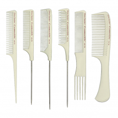 Olivia Garden CarboSilk Professional Combs for Technical and Chemical Services (CS-T)
