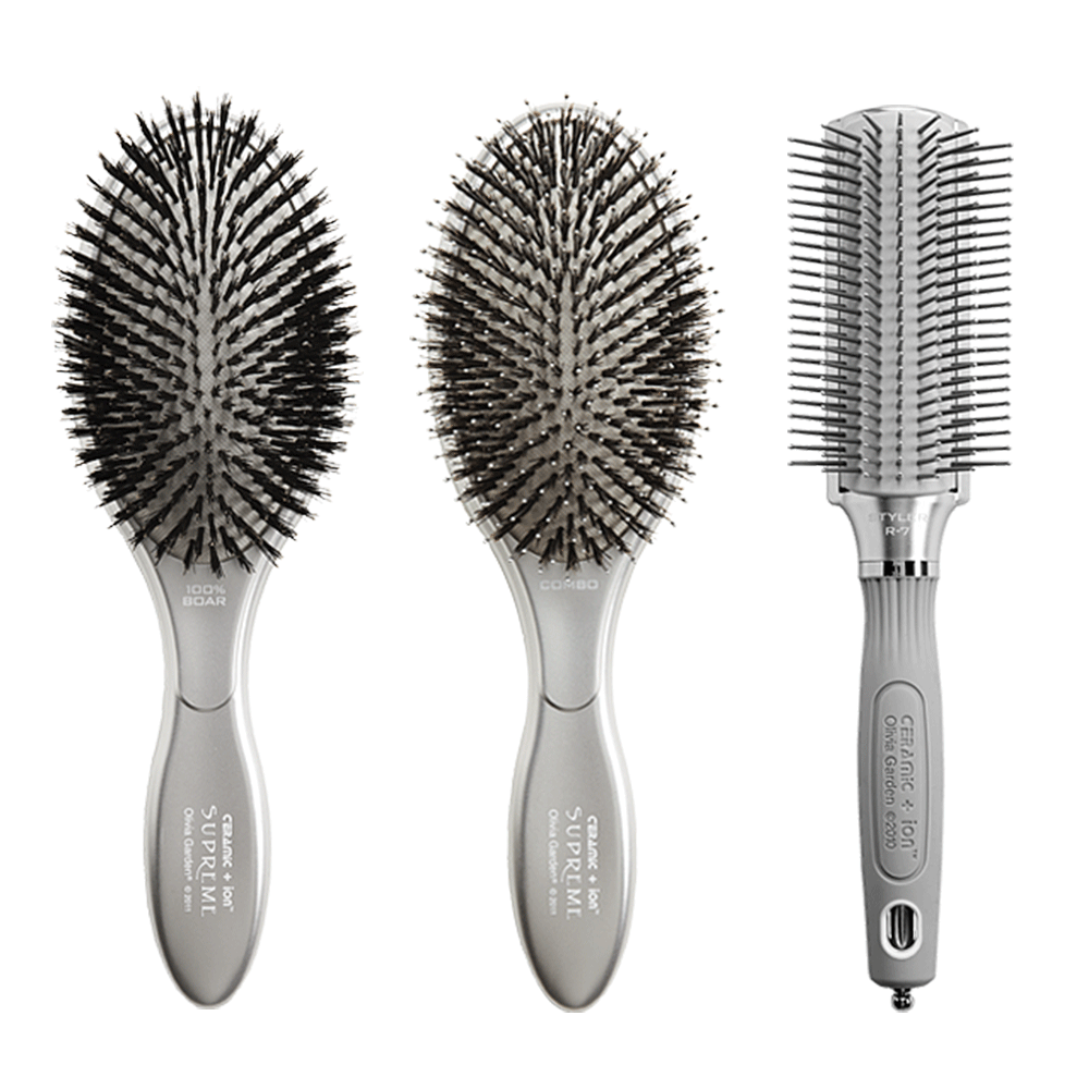 Olivia Garden Ceramic Ion Supreme Styler Brushes