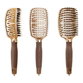 Olivia Garden Nano thermic Ceramic + Ion Flex Brush Collection