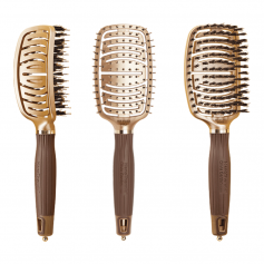 Olivia Garden Nano Thermic Ceramic + Ion Flex Brush Collection (NT-FLEX)