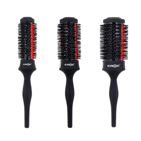 Croc Black Silicone Thermal Brush 33mm