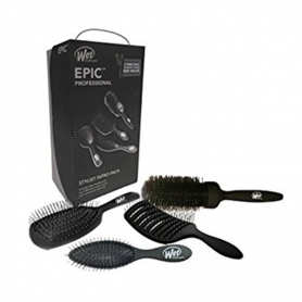 Wet Brush Pro EPIC Stylist Kit (4 Brushes + 2 Free Combs)