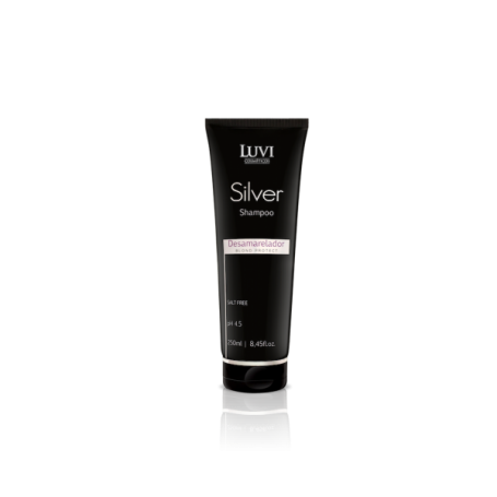 Luvi Silver Shampoo for Blonde Hair 250ml/8.5oz