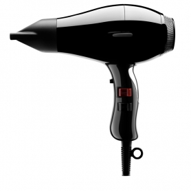 Elchim 8th Sense Hair Dryer - Icy Silver (Black)
