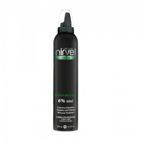 Nirvel Green Mousse Curly Hair