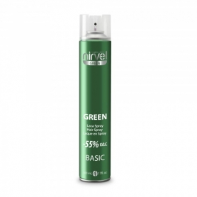 Nirvel Green Basic Hairspray (650ml/22oz)