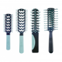 Cricket Static Free Ceramic & Ion Infused Comfort Ball Tips Brush Collection