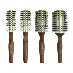 Olivia Garden Eco Ceramic Firm Bristles Thermal Brush Collection