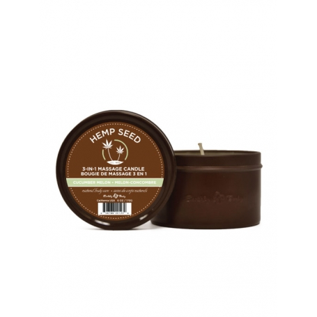 Hemp Seed Natural Body Care 3-in-1 Massage Candle (170g/6oz)