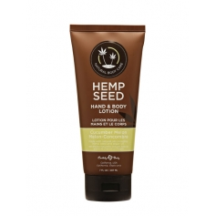Hemp Seed Natural Body Care Hand & Body Lotion - Cucumber Melon
