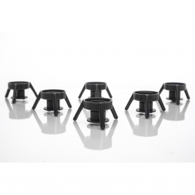 Flip-It! Dispensing Base Cap Stands Refill Pack - Black