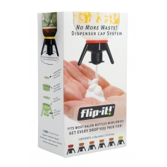 Flip-It! Bottle Emptying Deluxe Beauty Cap Kit
