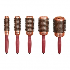 Olivia Garden HeatPro Thermal Barrel Brush Collection