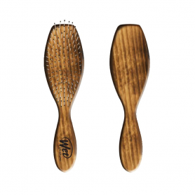 Wet Brush Men's Burnt Wood Full Size Styler & Detangler Brush