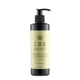 CBD Daily Massage Lotion (8oz/237ml)