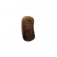 Wet Brush Men's Burnt Wood Palm Shine Enhancer Brush