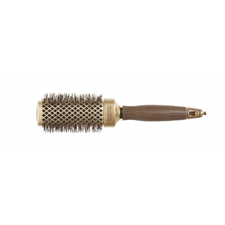 Olivia Garden NanoThermic Ceramic + Ion Shaper Square Brush - 1.5in / 40mm