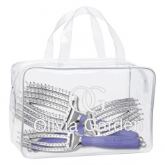 Olivia Garden FingerBrush 3pc Set Bag Deal
