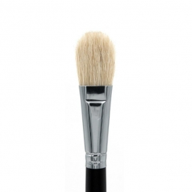Crown Esthetic Brush Series - Oval Boar Facial Brush (ES4)