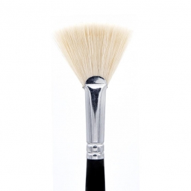 Crown Esthetic Brush Series - Medium Mask Fan Brush (ES2)