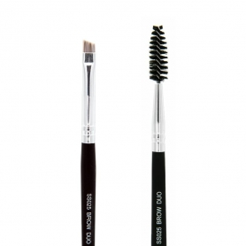 Crown Syntho Brush Series - Brow Duo Brush (SS025)
