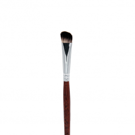 Crown Italian Badger Brush Series - Angle Fluff Brush (IB128)