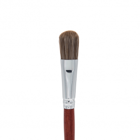 Crown Italian Badger Brush Series - Oval Foundation Brush (IB107)