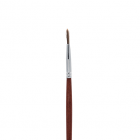 Crown Italian Badger Brush Series - Taklon Mini Liner Brush (IB129)