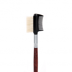 Crown Italian Badger Brush Series - Brow/Lash Groomer Brush (IB115)