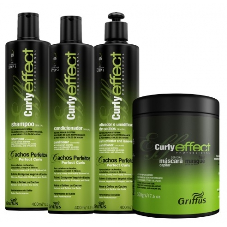 Griffus Curly Effect System Set - 400ml / 13.5oz