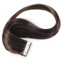 Suprema 100% Real Human Remy Hair Tape On Extensions 20pc Set - Brown [2]