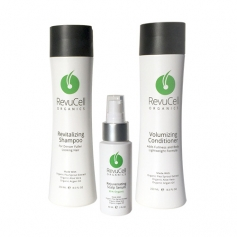 RevuCell Organics Hair Loss Therapy One Month Treatment Set